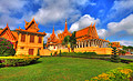 The throne hall inside the Royal Palace in Phnom Penh - photo travels