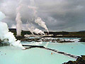 Iceland - landscapes  - pictures - Blue Lagoon ,  hot spring