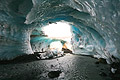 Ice arch in blue glacier - our tours - Iceland - landscapes