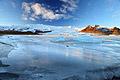 Vatnajökull isbre - bilder fra ferie - Island - landskap