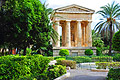 Lower Barrakka Gardens in Valletta - the capital of Malta - photo travels