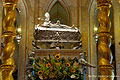 Silver relic coffin of Adalbert of Prague in the Cathedral Gniezno