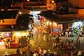 Bilder från semestern - Djemma el fna marknadsplats