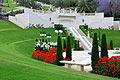 Bahá'í gardens in Haifa  - pictures