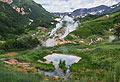 Valley of Geysers on Kamchatka Peninsula  - pictures