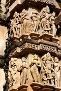 erotic sculpture - Khajuraho Monuments