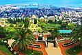 Haifa, Israel  - resor - Bahá'ís världscenter
