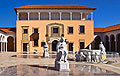 Ralli museum in Caesarea - Israel - photo stock