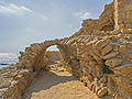 Ancient harbor in Acre, Israel  - pictures