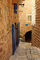 Narrow stone streets of Old Jaffa Tel Aviv - Israel - photo stock