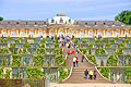 Sanssouci (summer palace of Frederick the Great) in Potsdam - photos