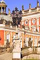 Nossos passeios -  Sanssouci (palácio de Verão de Frederico o Grande) em Potsdam