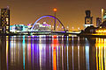 Glasgow - travels - Clyde Arc