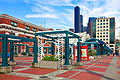 Holiday pictures - Seattle, the rail station in the Chinatown