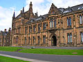 University of  Glasgow, Scotland - holiday pictures