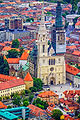 Cathedral and bishop's palace, Zagreb, Croatia - pictures