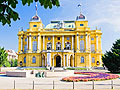 Holiday pictures - Croatian National Theatre in Zagreb