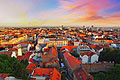 Zagreb - the capital and the largest city of the Republic of Croatia - photography