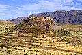 Landscapes of Morocco - pictures - Kasbah Tizourgane in Anti-Atlas Mountains