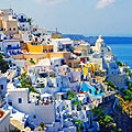 Santorini  (Cyclades),  Greece - photos
