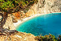 Pictures - Porto Katsiki beach in Lefkada - Greek island in the Ionian Sea