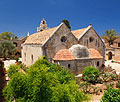 Arkadi Monastery on the island of Crete - travels
