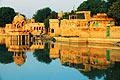 Gadisagar lake in Jaisalmer - picture
