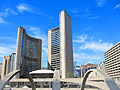 Nathan Phillips square and Toronto City Hall in Canada  - pictures