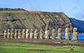 Easter Island - travels - moais of Tongariki