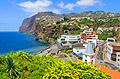 Madeira - photos - Cabo Girao cliff and town Câmara de Lobos