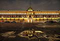 National Palace in Plaza de la Constitucion (Zócalo) in capital of Mexico - travels