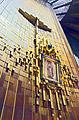 Das Bild der Jungfrau von Guadalupe in neuen Basilika