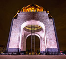 Monument to the Revolution in Mexico City - capital of Mexico - photography