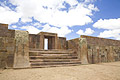 Tiwanaku ( Tiahuanaco ) - photos - Spiritual and Political Centre of the Tiwanaku Culture in Bolivia- UNESCO World Heritage Site