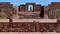 Tiwanaku ( Tiahuanaco ) - travels - the temple Kalasasaya