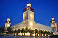The King Hussein Mosque in Amman - the capital of the Hashemite Kingdom of Jordan  - pictures