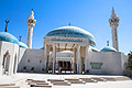 King Abdullah Mosque (Blue Mosque) in Amman - the capital of the Hashemite Kingdom of Jordan - holiday pictures