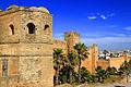 Kasbah av Udayas - Fästning i Rabat - Marocko - foton