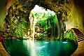 Cenote Ik Kil in Chichen Itza - travels