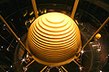 The main tuned mass damper atop Taipei 101 in Taipei - the capital of the Republic of China (Taiwan) - photography