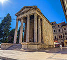 Holiday pictures - Pula, Temple of Augustus