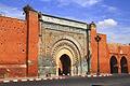 Photos - Marrakesh - Bab Agnaou one of the nineteen gates of Marrakech