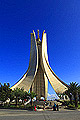 Maqam Echahid - Martyrs' Memorial in Algiers, the capital and largest city of Algeria - photo travels