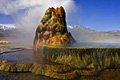 Fly Geyser (Fly Ranch Geyser) in Nevada - travels
