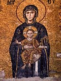 photo of Mary and Jesus - Hagia Sophia