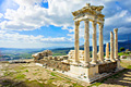 Holiday pictures - Pergamon - Temple of Trajan