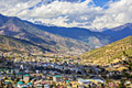 Thimphu - the capital and largest city of Bhutan - photos