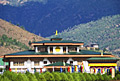 Paro Airport -  the only international airport of Bhutan  - pictures