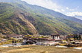Tashichho Dzong in Thimphu - the capital and largest city of Bhutan - travels