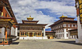 Dzong of Thimphu - the capital and largest city of Bhutan  - pictures